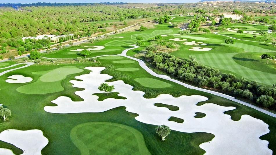 Los tres mejores campos de golf de Mallorca